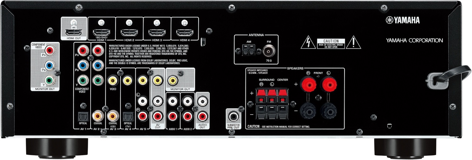 How To Hook Up A Yamaha Receiver To A Blueray