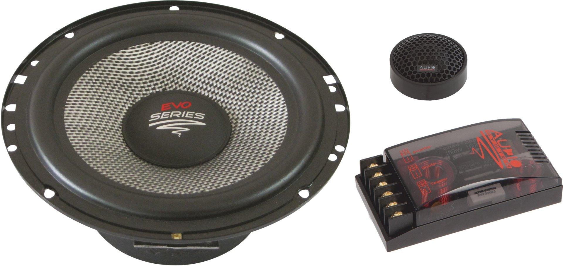 Car Audio System >> Audio System R 165 Evo