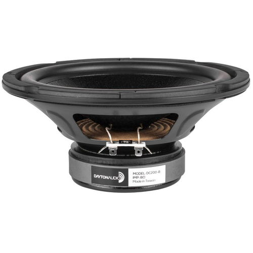 "Dayton Audio DC200-8 8"" Classic Woofer 8 Ohm"