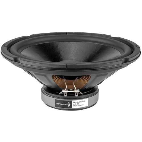 "Dayton Audio DC250-8 10"" Classic Woofer 8 Ohm"
