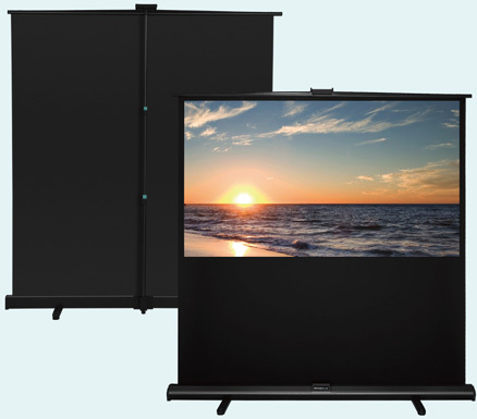 "Grandview Portable pull-up screen 70"" - 92"""