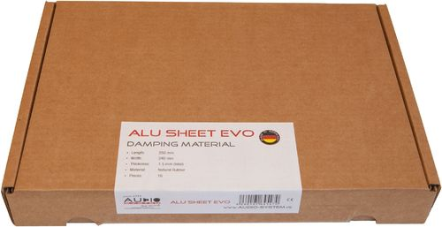 Audio System ALU SHEET EVO