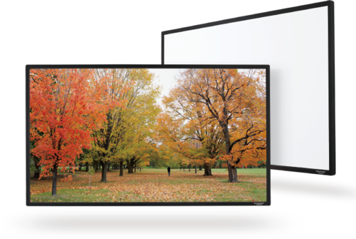 "Grandview Flat Series Fixed 4K AW - 77"" - 150"""