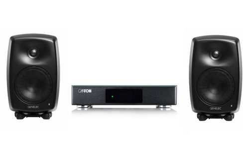 Canton Smart Connect 5.1 + Genelec G Three B, musta